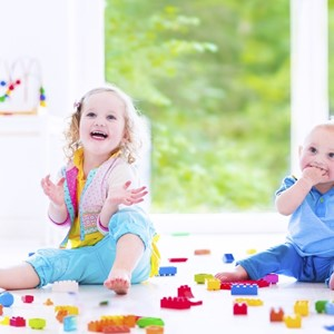 Top tips for parents with two children under two